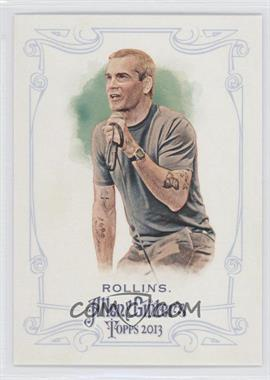 2013 Topps Allen & Ginter's #348 - Henry Rollins