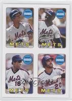 Darryl Strawberry, Mookie Wilson, Dwight Gooden, Howard Johnson