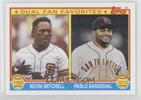 Kevin Mitchell, Pablo Sandoval