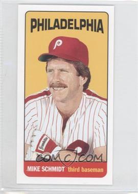 2013 Topps Archives 1965 Football Mini Tall Boys #MT-MS - Mike Schmidt
