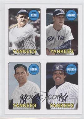 2013 Topps Archives 1969 4-In-1 Stickers #69S-RGBJ - Babe Ruth