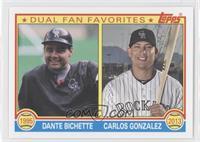 Dante Bichette, Carlos Gonzalez