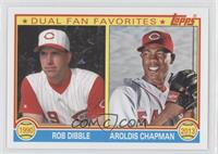 Rob Dibble, Aroldis Chapman