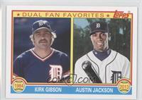 Kirk Gibson, Austin Jackson