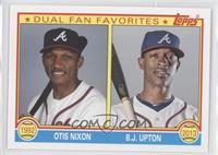 Otis Nixon, B.J. Upton