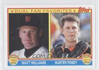 Mac Williamson, Buster Posey