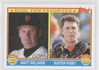 Mac Williamson, Buster Posey