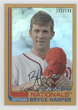 2013 Topps Archives Gold Rainbow #100 - Bryce Harper /199