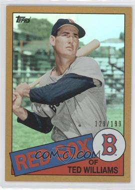 2013 Topps Archives Gold Rainbow #120 - Ted Williams /199