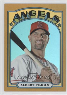 2013 Topps Archives Gold Rainbow #20 - Albert Pujols /199