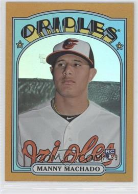 2013 Topps Archives Gold Rainbow #27 - Manny Machado /199