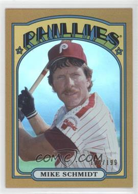 2013 Topps Archives Gold Rainbow #28 - Mike Schmidt /199