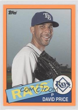 2013 Topps Archives Hobby Shop [Base] Orange Day-Glo #127 - David Price