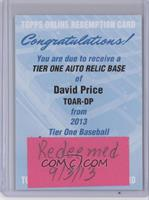 David Price /99 [REDEMPTION Being Redeemed]