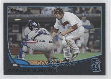2013 Topps Black #546 - Carlos Quentin /62
