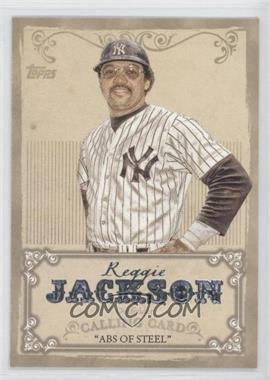 2013 Topps Calling Card #CC-11 - Reggie Jackson