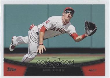 2013 Topps Chase it Down #CD-1 - Mike Trout