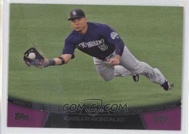 2013 Topps Chase it Down #CD-12 - Carlos Gonzalez