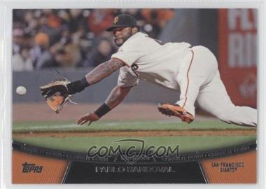2013 Topps Chase it Down #CD-2 - Pablo Sandoval