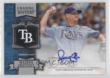 2013 Topps Chasing History Autographs #CHA-AC - Alex Cobb