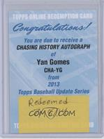 Yan Gomes [REDEMPTION Being Redeemed]