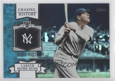 2013 Topps Chasing History Holo-Foil #CH-11 - Babe Ruth