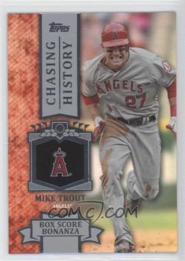 2013 Topps Chasing History Holo-Foil #CH-64 - Mike Trout