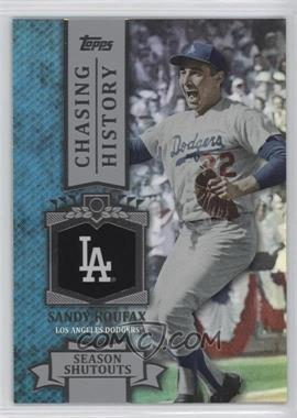 2013 Topps Chasing History Holo-Foil #CH-69 - Sandy Koufax