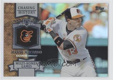 2013 Topps Chasing History Holo-Foil #CH-93 - Manny Machado