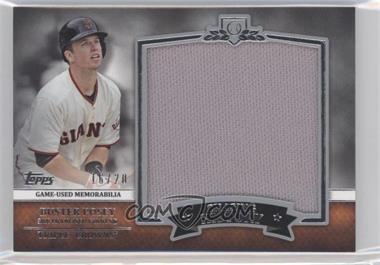 2013 Topps Chasing History Jumbo Relic #CHJR-BP - Buster Posey /70