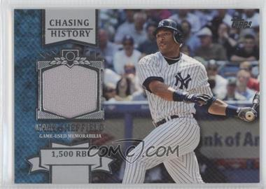 2013 Topps Chasing History Relics #CHR-GS - Gary Sheffield