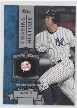 2013 Topps Chasing History #CH-42 - Alex Rodriguez
