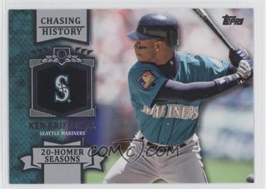 2013 Topps Chasing History #CH-55 - Ken Griffey Jr.