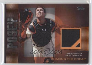 2013 Topps Chasing The Dream Relics #CDR-BP - Buster Posey