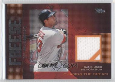 2013 Topps Chasing The Dream Relics #CDR-DF - David Freese