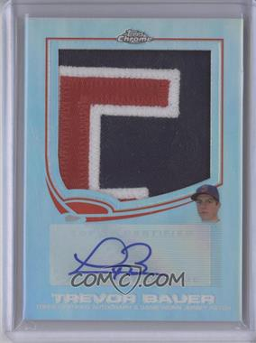 2013 Topps Chrome - [Base] - Base Variation Patch Certified Autograph [Autographed] #9 - Trevor Bauer /10