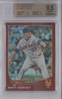 Matt Harvey /25 [BGS 9.5]