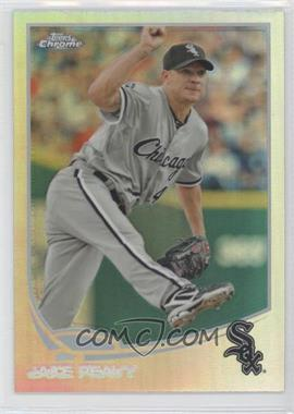 2013 Topps Chrome - [Base] - Refractor #47 - Jake Peavy