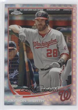 2013 Topps Chrome - [Base] - X-Fractor #41 - Jayson Werth