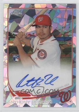 2013 Topps Chrome - Rookie Certified Autographs - Atomic Refractor [Autographed] #128 - Anthony Rendon /10