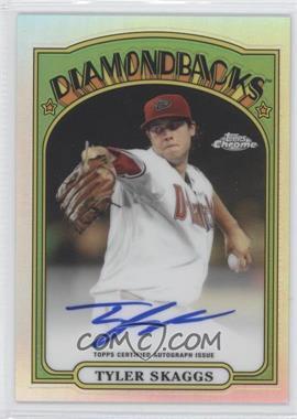 2013 Topps Chrome 1972 Topps Chrome Certified Autograph #72C-TS - Tyler Skaggs /25