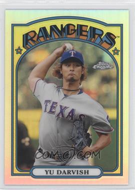 2013 Topps Chrome 1972 Topps Chrome #72C-YD - Yu Darvish