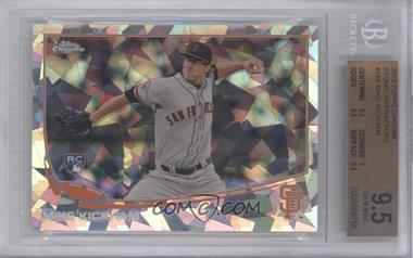 2013 Topps Chrome Atomic Refractor #156 - Mike Kickham /10 [BGS 9.5]