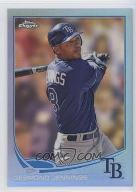 2013 Topps Chrome Blue Refractor #203 - Desmond Jennings /199