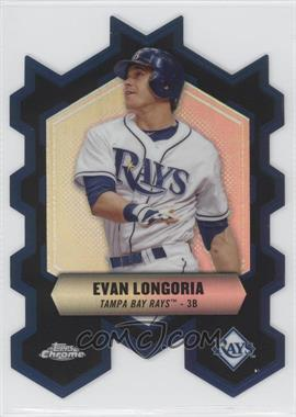 2013 Topps Chrome Chrome Connections Die-Cuts #CC-EL - Evan Longoria