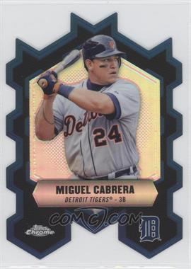 2013 Topps Chrome Chrome Connections Die-Cuts #CC-MC - Miguel Cabrera