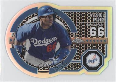 2013 Topps Chrome Dynamic Die-Cuts #DY-YP - Yasiel Puig