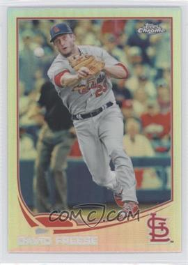 2013 Topps Chrome Refractor #135 - David Freese