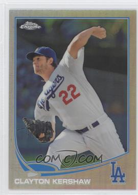 2013 Topps Chrome Refractor #175 - Clayton Kershaw