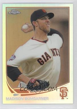 2013 Topps Chrome Refractor #37 - Madison Bumgarner